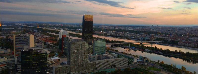 Wien vom Donauturm