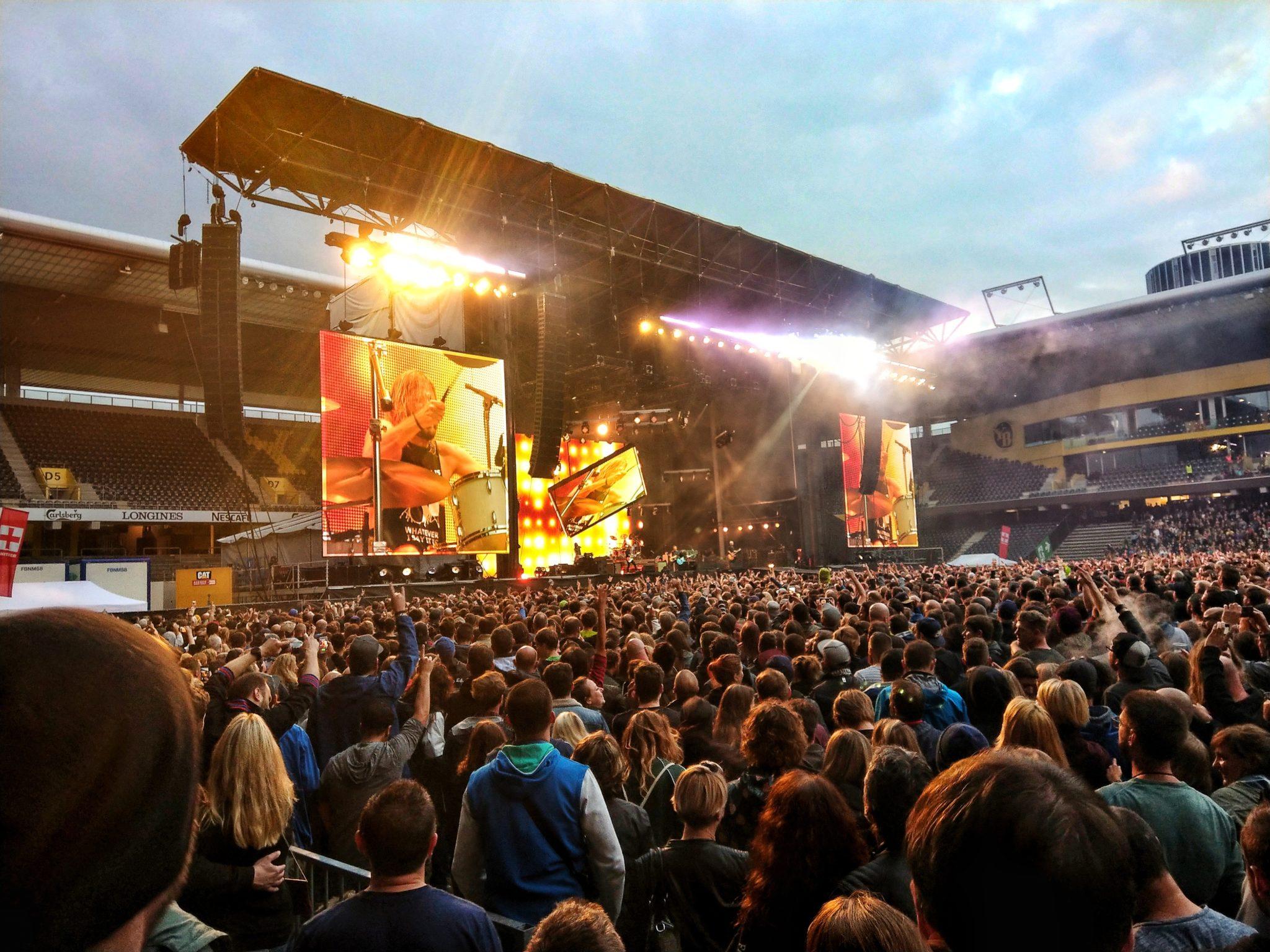 Foo Fighters - Stade de Suisse