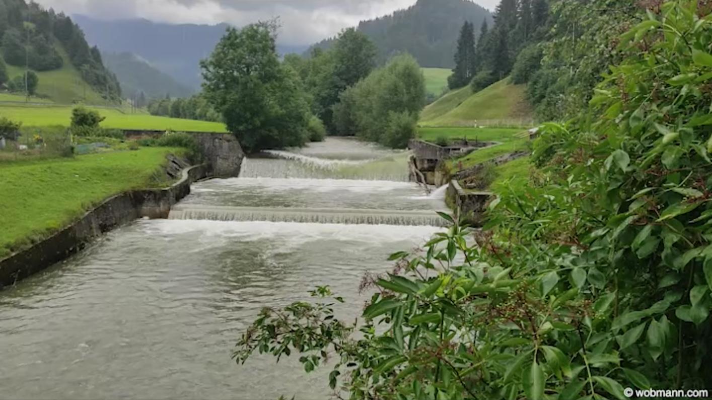 Hochwasser Ilfis